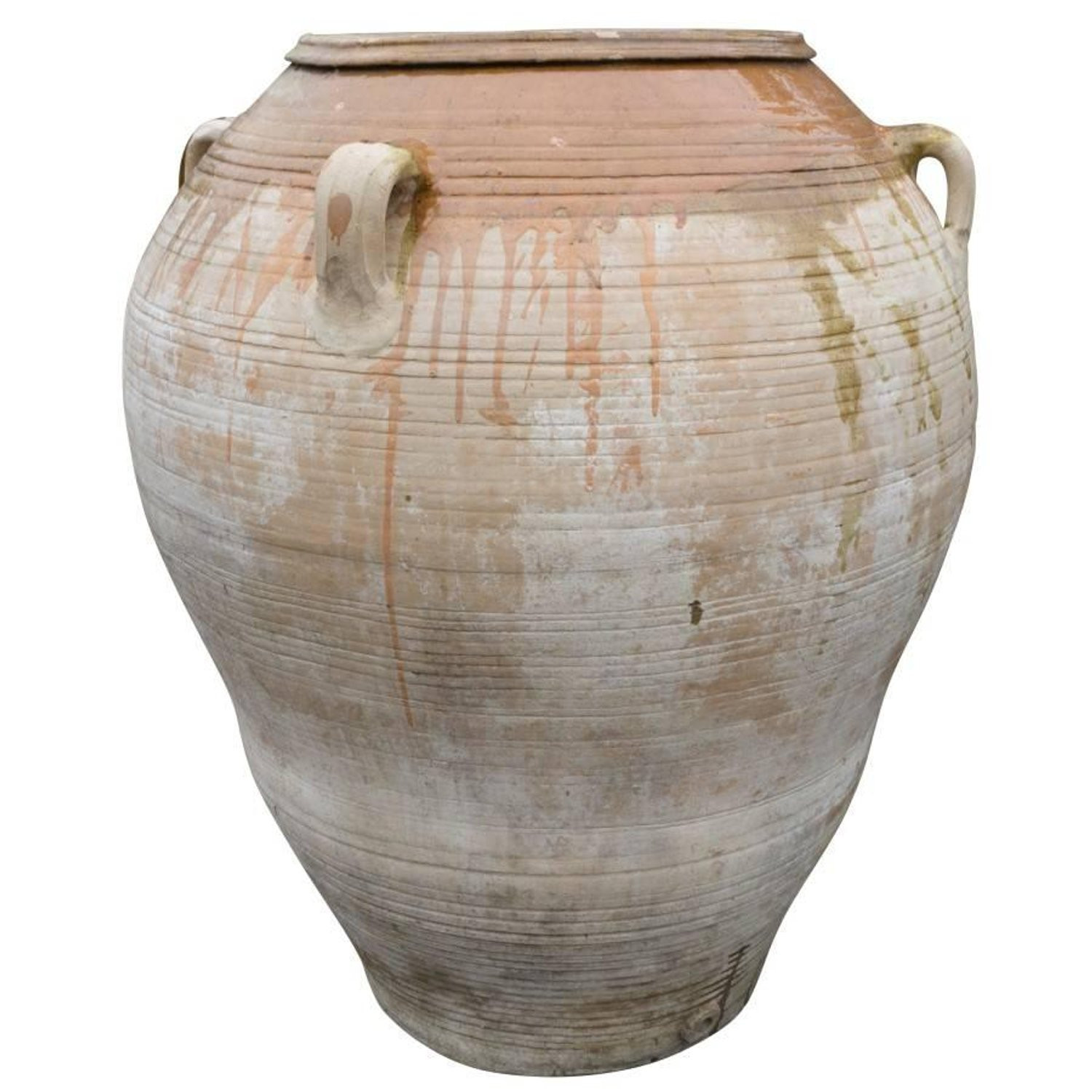 12 Great Large Yellow Ceramic Vase