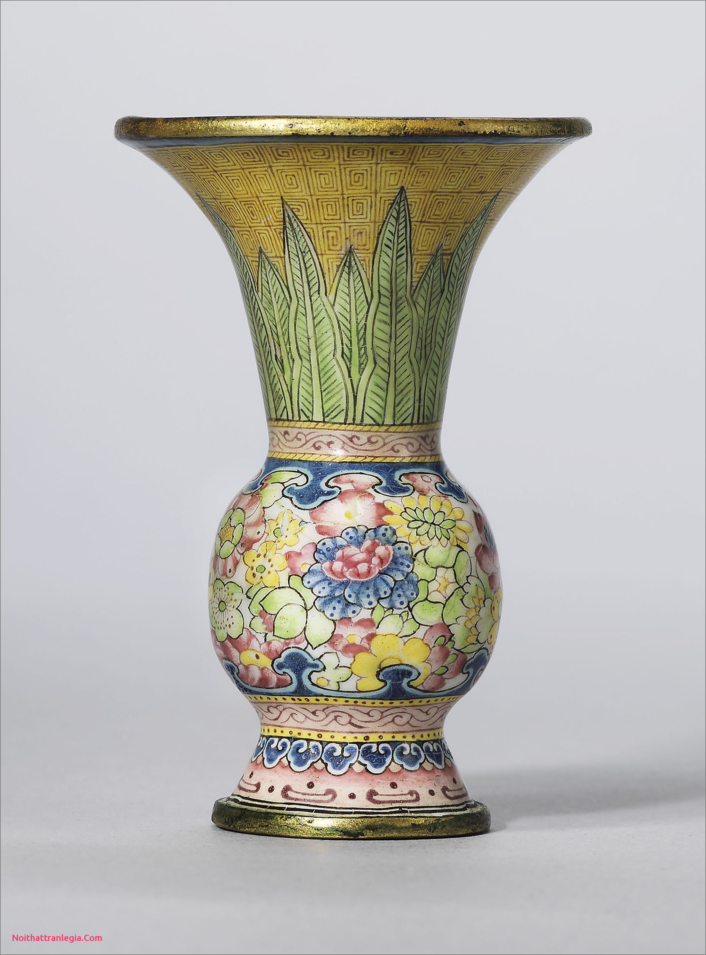 large yellow vase of 20 chinese antique vase noithattranlegia vases design throughout a rare painted enamel gu shaped miniature vase qianlong four character mark in