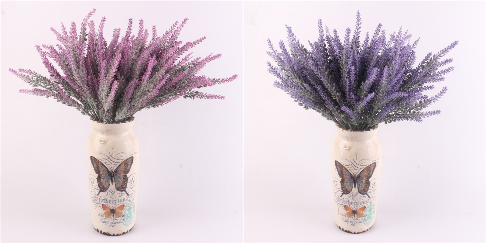 Lavender Flower Vase Of Romantic Provence Decoration Lavender Flower Silk Artificial Flowers with Aeproduct Getsubject