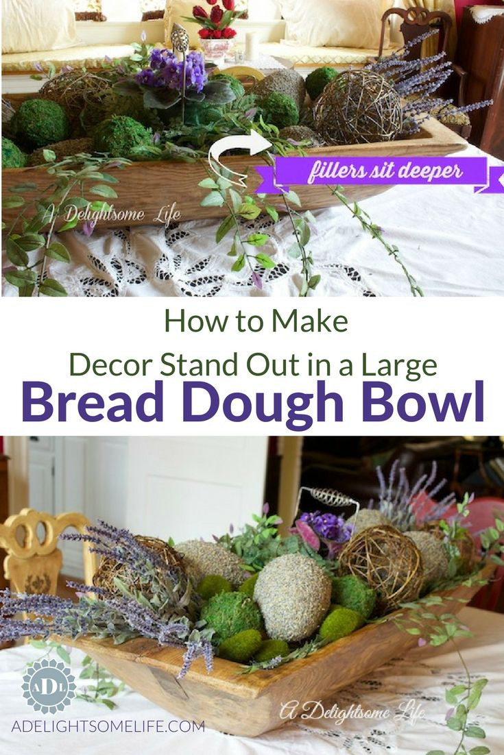 lavender vase fillers of 23 best centerpiece images on pinterest dough bowl bowl pertaining to how to make decor stand out in bread dough bowl