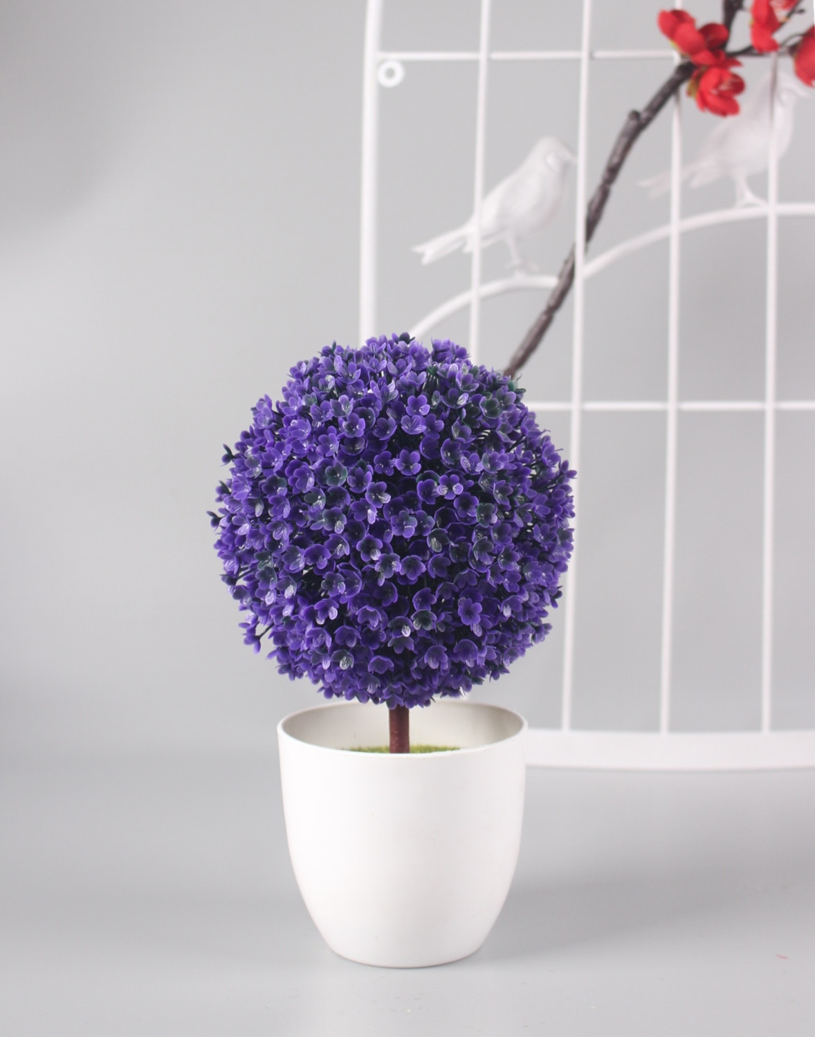 Lavender Vase Fillers Of Aliexpress Com Buy 1 Set Ball Flower Vase Artificial Potted Intended for Best Price Thank You