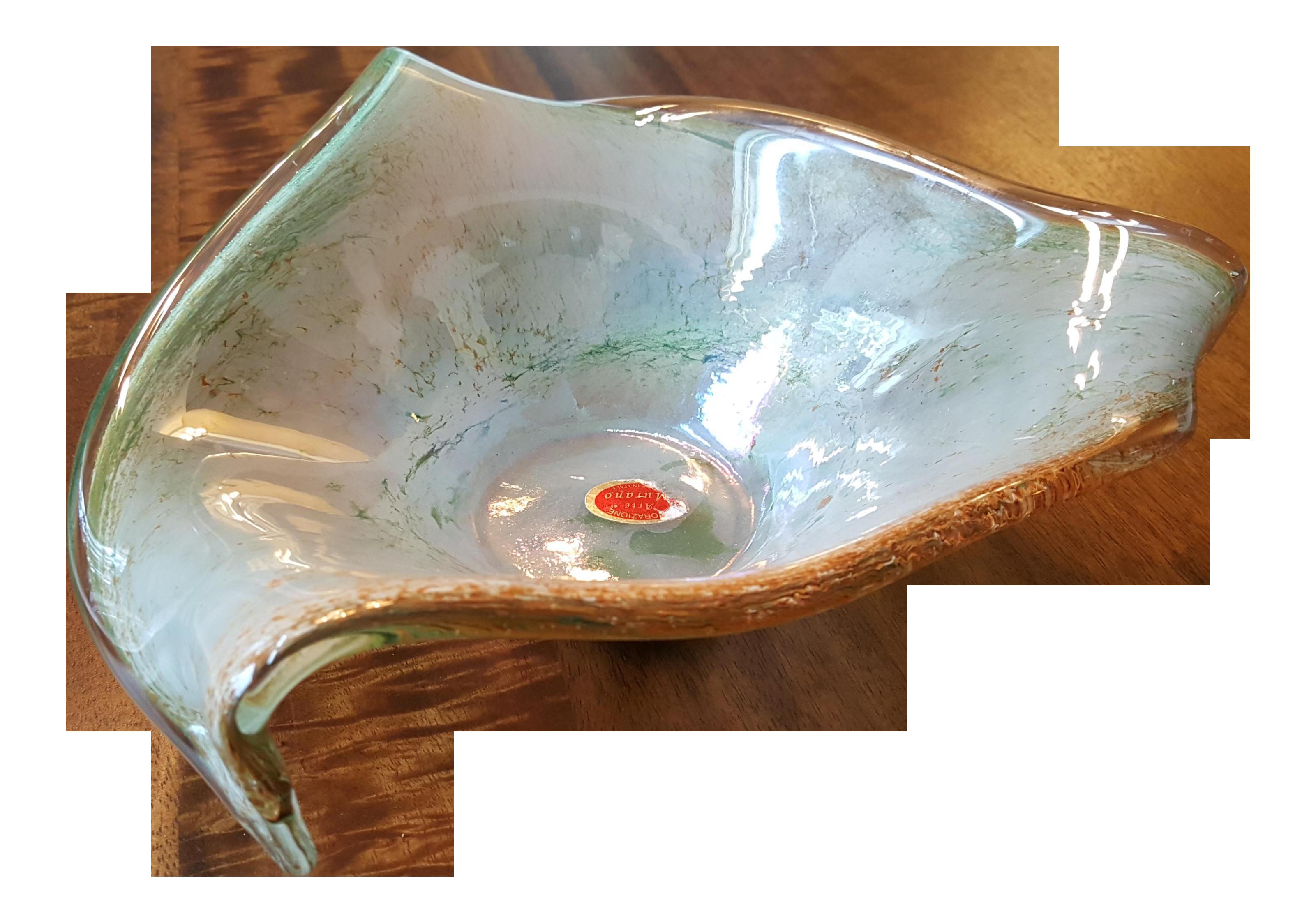 lavorazione arte murano glass vase of lavorazione arte murano glass bowl chairish pertaining to lavorazione arte murano glass bowl 9506
