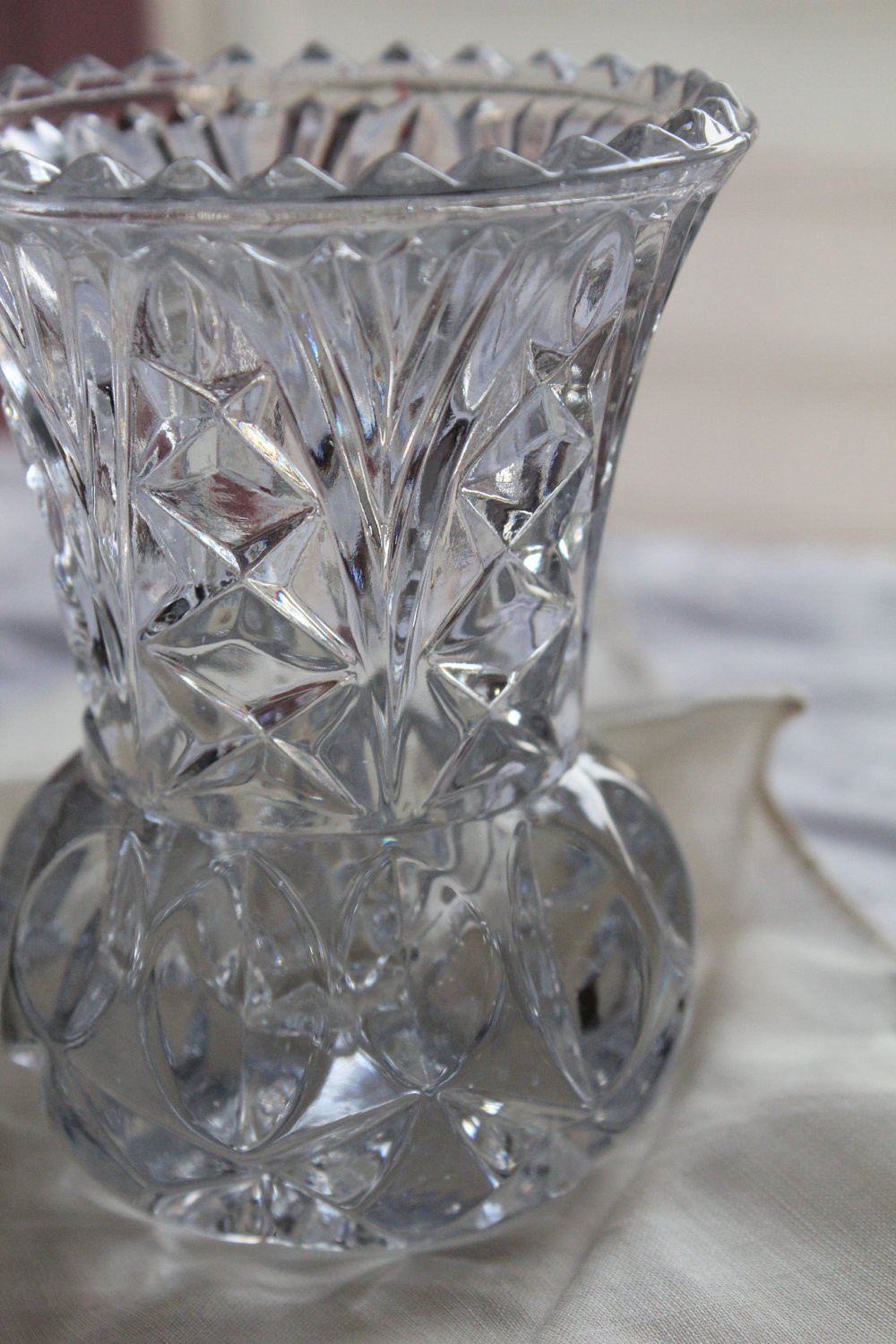 "Lead Crystal Bud Vase Of Princess House Two Mini Lead Crystal Bud Vases toothpick In DŸ""Žzoom"