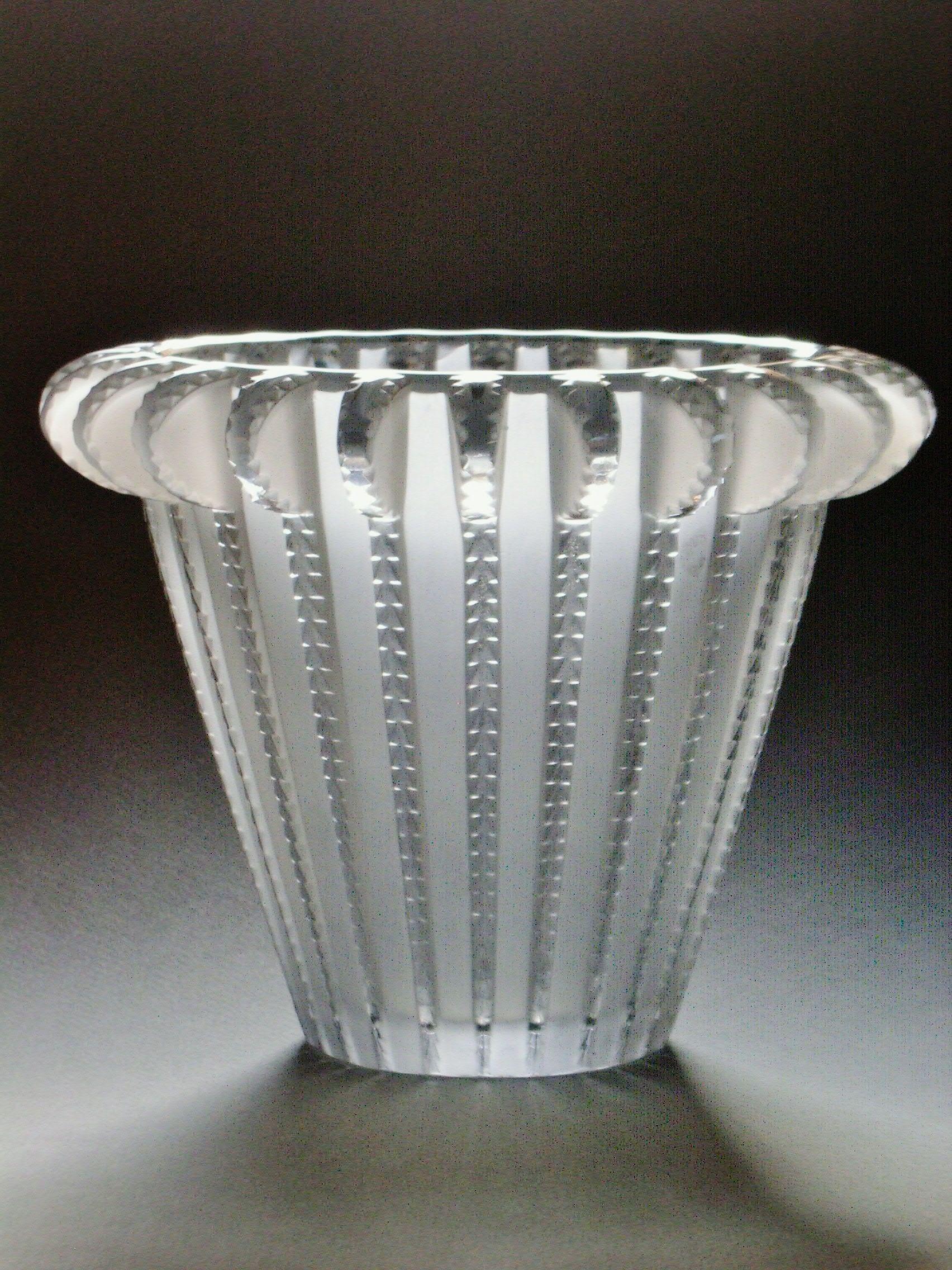 leaded glass vase of vase royat rene lalique art glass pinterest inside vase royat rene lalique