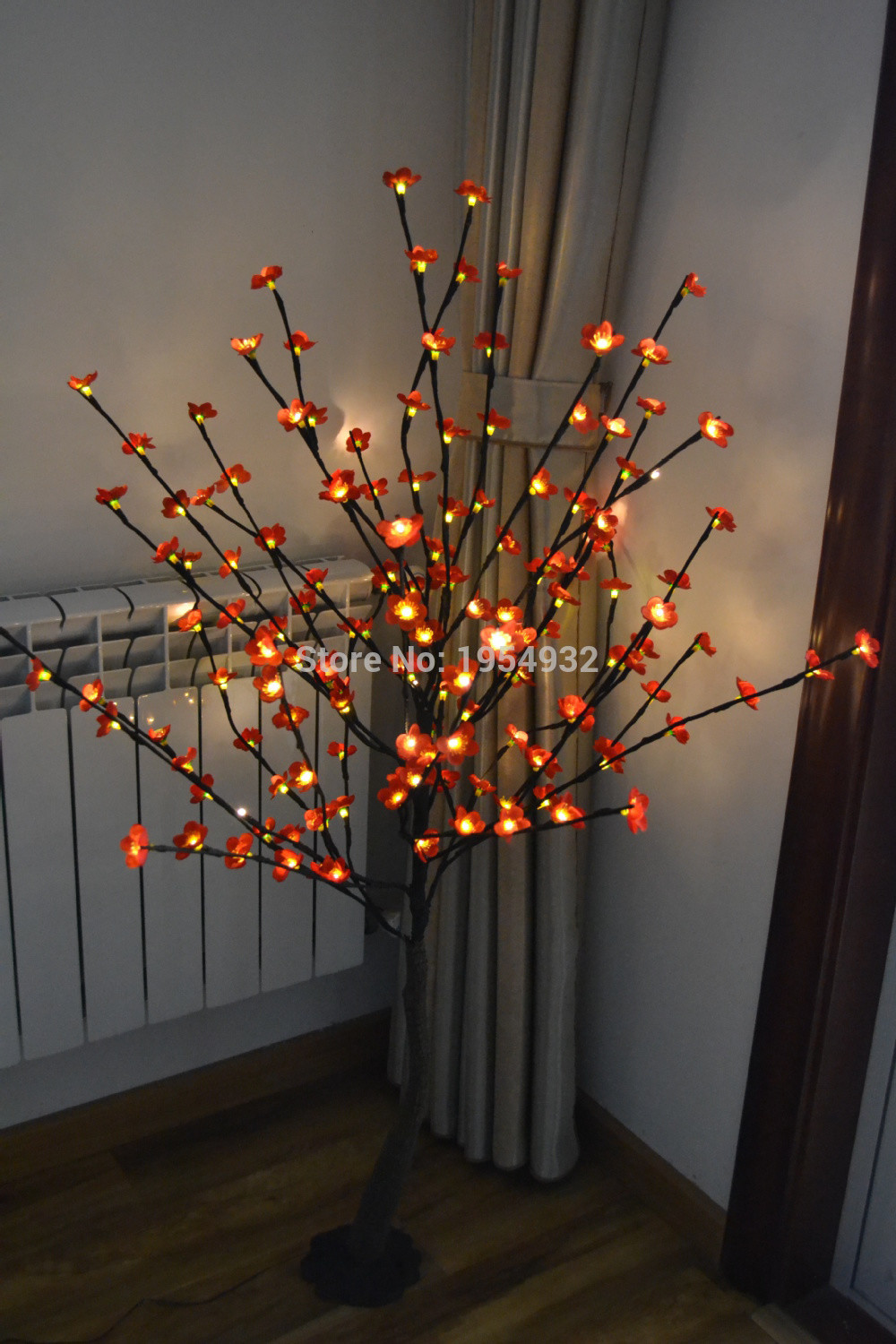 led branch lights in vase of best 52 blossom plum cherry led tree light in 3v voltage with base within free shipping 52 160pcs blossom plum cherry led tree light in 3v voltage with base branch tree light with blossome
