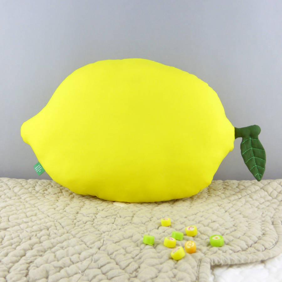 lemon vase filler of lemon shaped pillow nursery cushion by petit mushyp pertaining to lemon shaped pillow nursery cushion