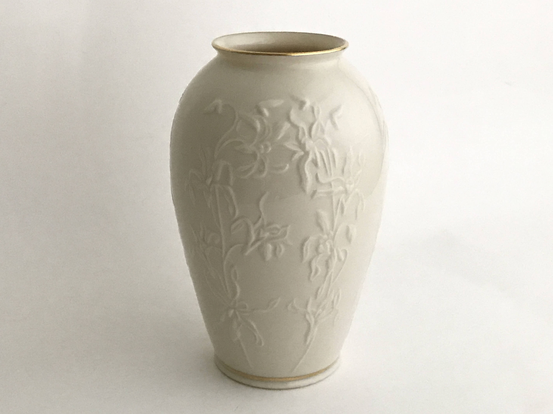 lenox bud vase gold trim of lenox china vase vintage lenox vase centennial vase etsy intended for image 0