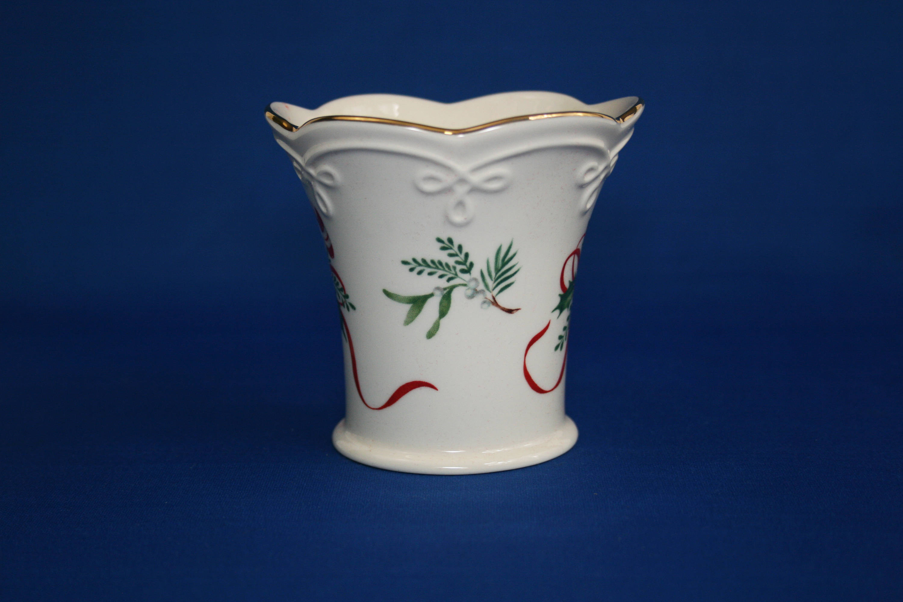 Lenox Elfin Bud Vase Of Vintage Lenox China Candy Cane Tea Light Fluted Cup Candle Etsy Regarding Image 0 Image 1