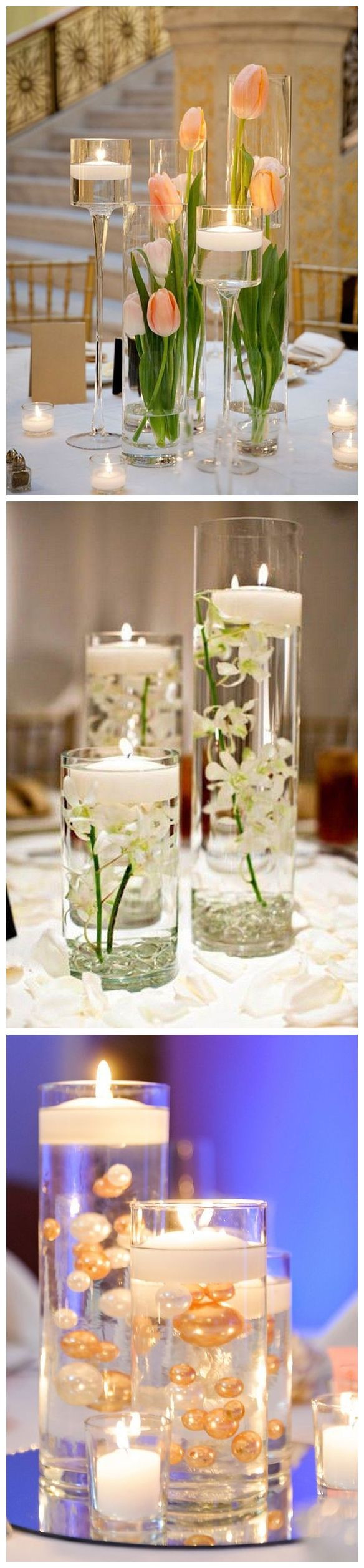 lenox floating hearts vase of 957 best flowers images on pinterest floral arrangements flower within 20 impossibly romantic floating wedding centerpieces