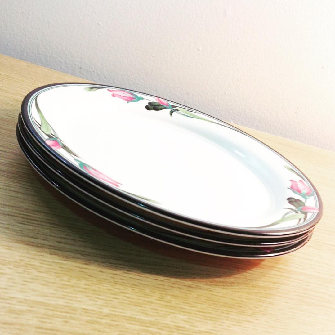 lenox heart vase of a–· housewares instagram hashtag photos videos • piktag with monetintheattic monet in the attic set of 3 lenox chinastone salad plates in midnight
