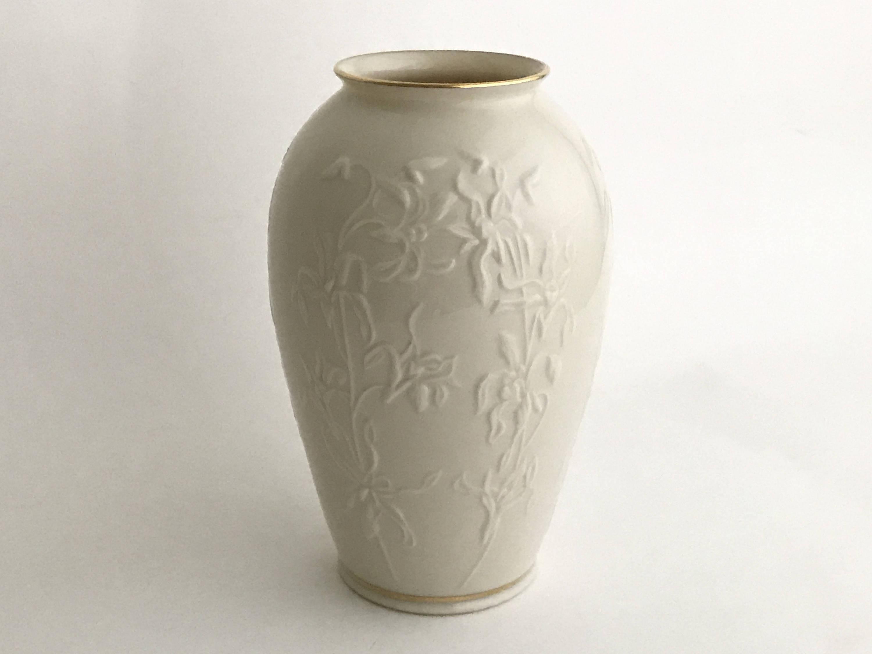 lenox rose vase gold trim of lenox china vase vintage lenox vase centennial vase etsy intended for image 0