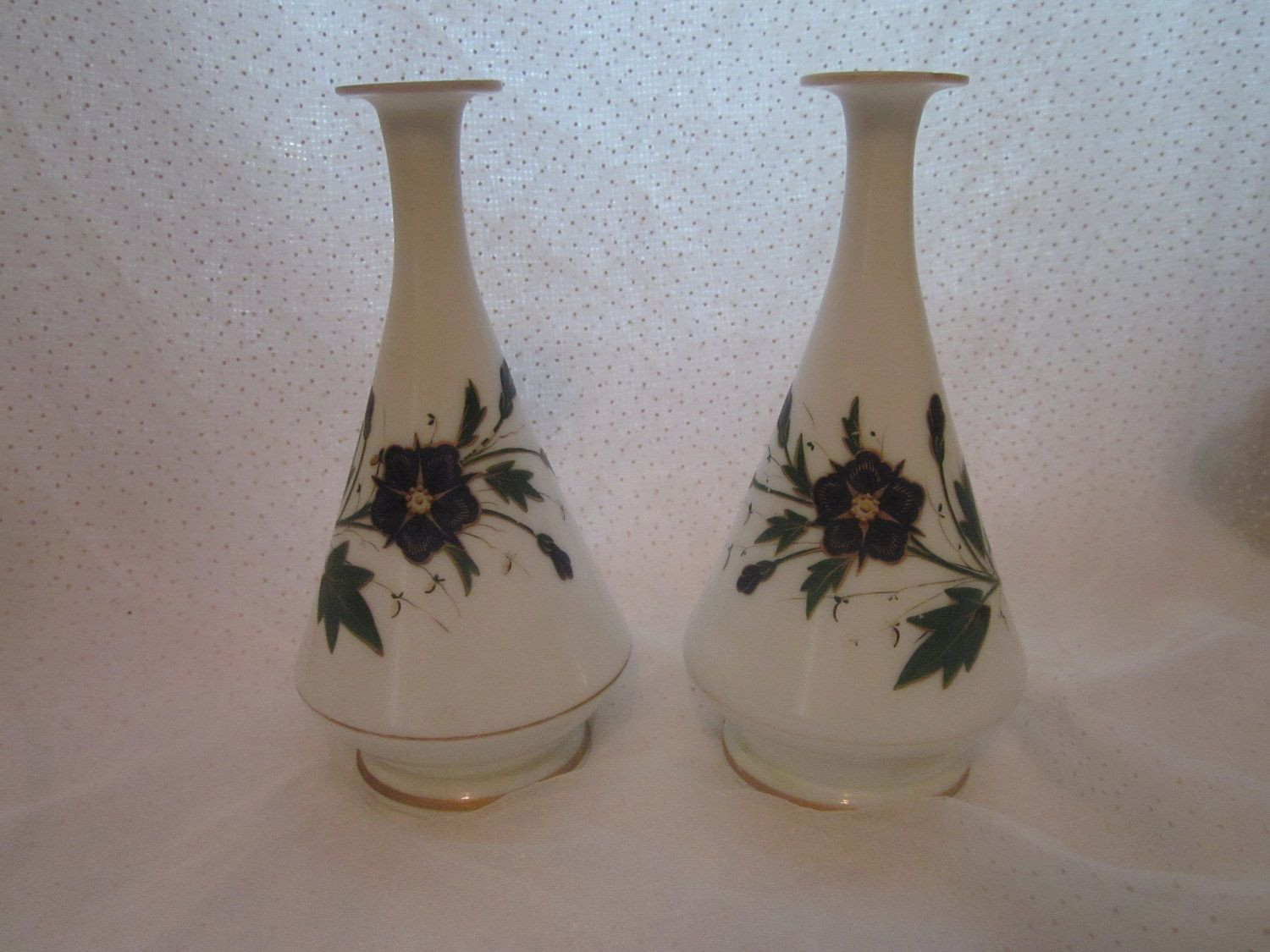 lenox small bud vase of vintage milk glass vases with handpainted blue flowers bud vase lot pertaining to pair of shabby sweet vintage milk glass vases hand painted blue flowers by mendozamvintage on etsy