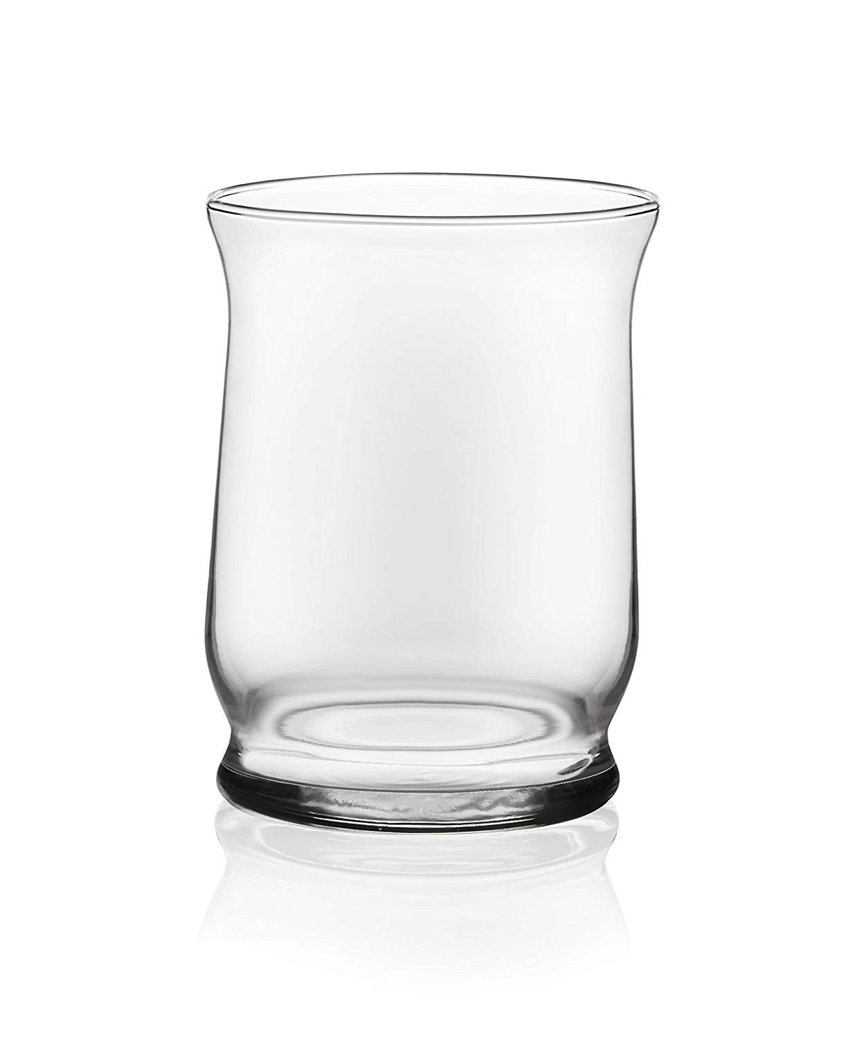libbey glass tower vase of amazon com libbey hurricane vase adorn 4 pc 6 in glass hurricane with regard to amazon com libbey hurricane vase adorn 4 pc 6 in glass hurricane vase set home kitchen