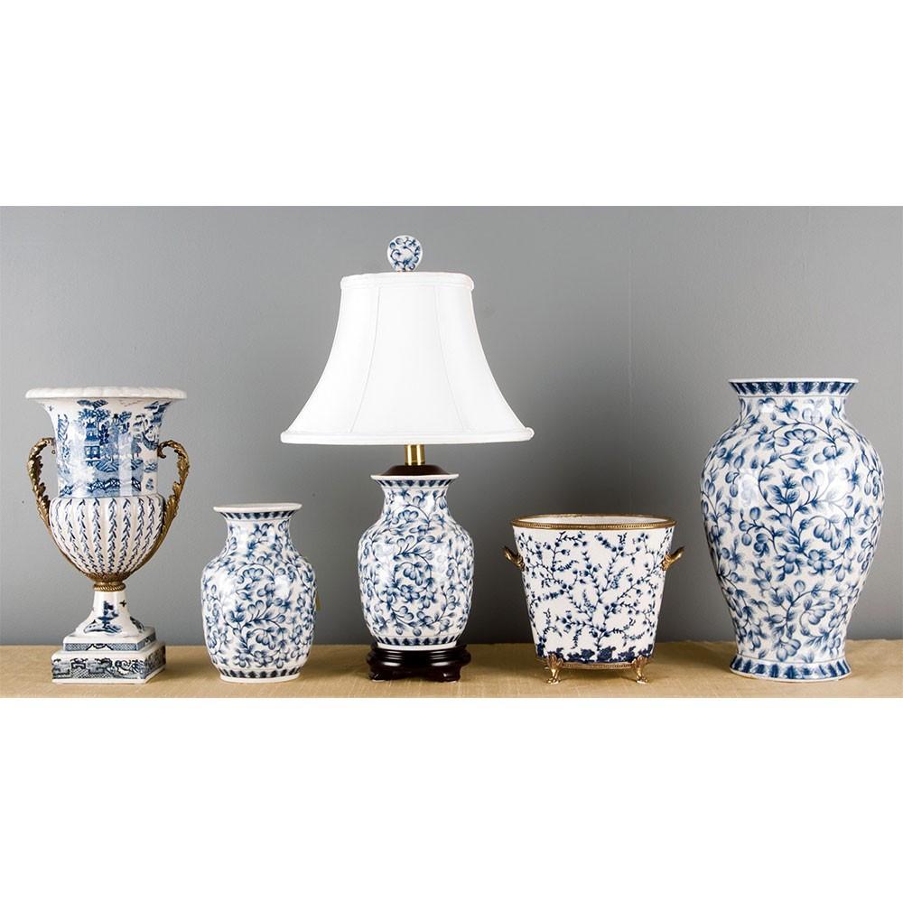 light blue and white vase of porcelain planter bronze ormolu brass burl 14043 in porcelain planter bronze ormolu