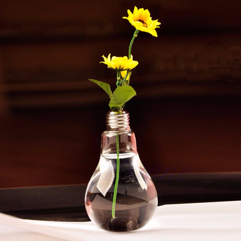 light bulb shaped vase of stand light bulb shape glass vase flower plant container pot home regarding stand light bulb shape glass vase flower plant container pot home decoration jj2834 in vases from home garden on aliexpress com alibaba group