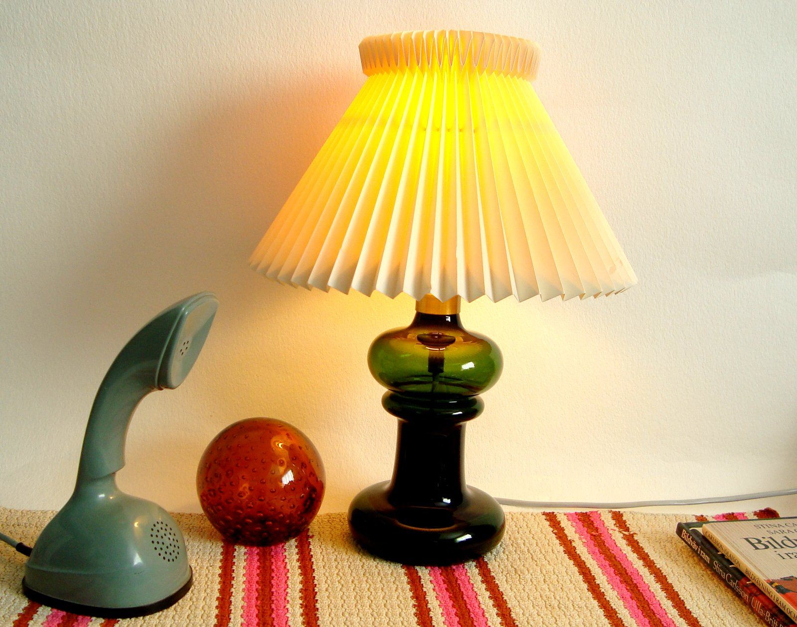 light bulb vase michaels of holmegaard table lamp by michael bang dark green glass mid throughout a beautiful mid century modern table lamp in forest green with a brass top design michael bang for holmegaard od denmark
