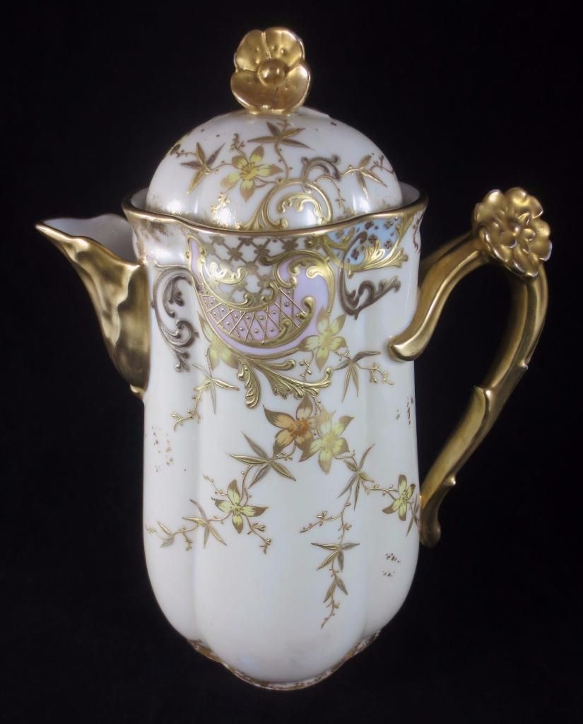 Limoges Vase Value Of Antique C1895 William Guerin Limoges France Gilded Porcelain Intended for Money Back Guarantee Please Read Full Description Antique C1895 William Guerin Limoges France Gilded Porcelain