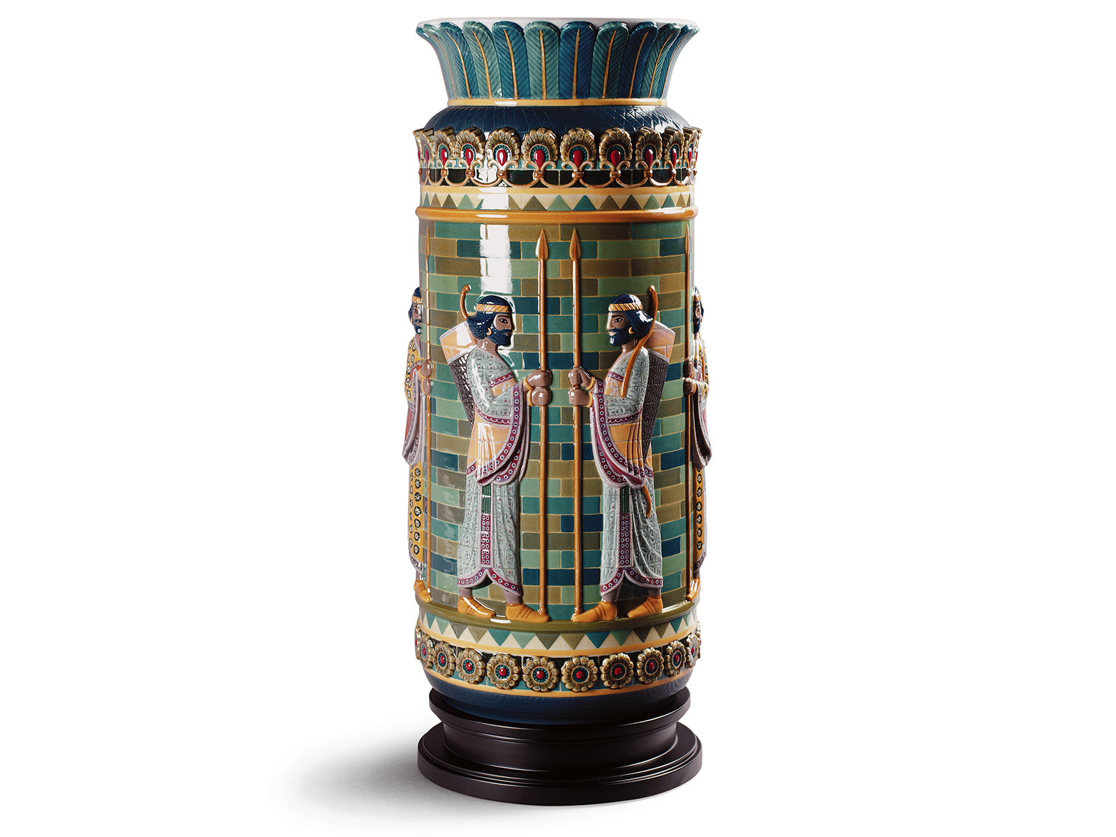 lladro bird scene vase of lladro limited editions the chinaman with regard to lladro archers frieze vase