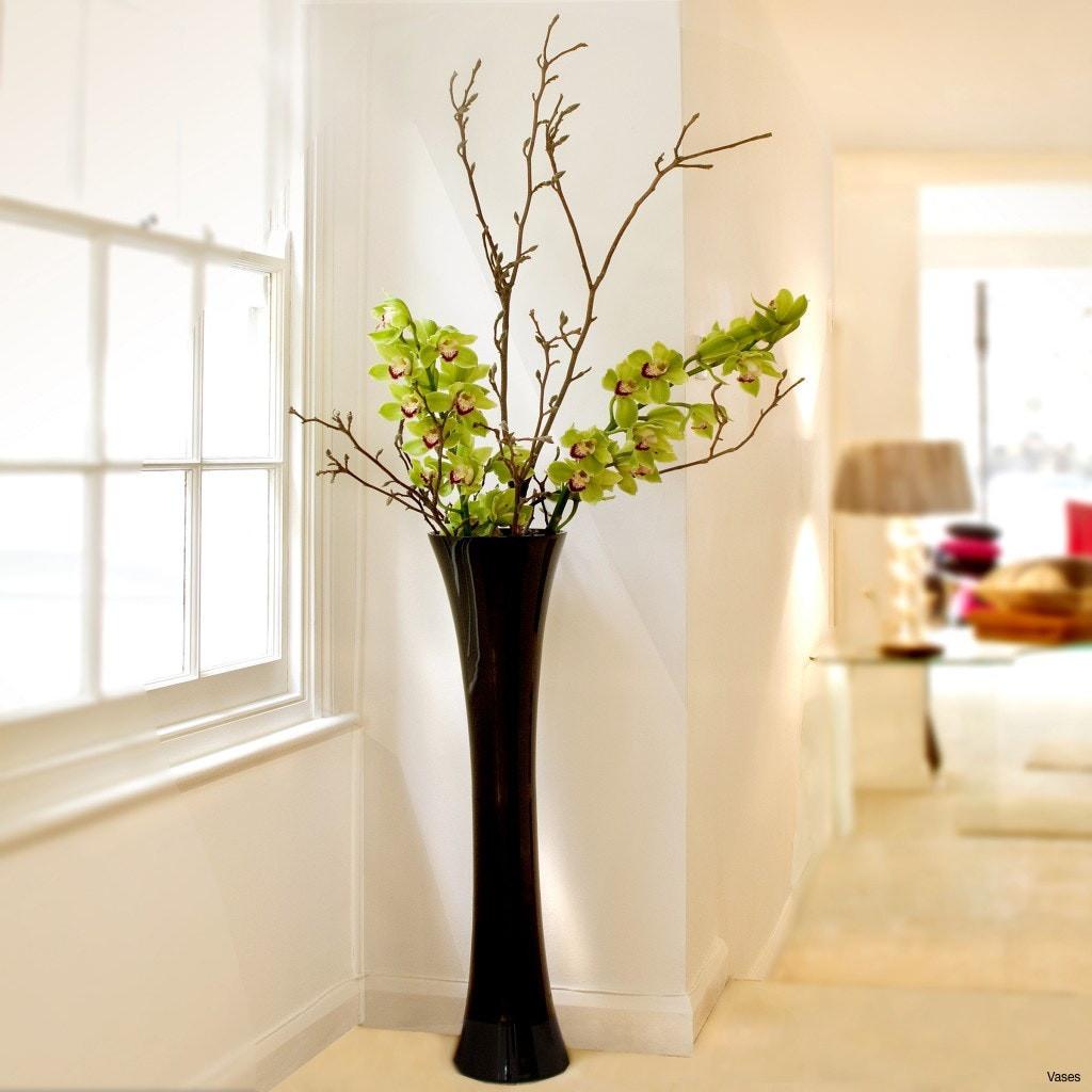 Decorative vase Ideas & 24 Fashionable Long Black Vase | Decorative vase Ideas
