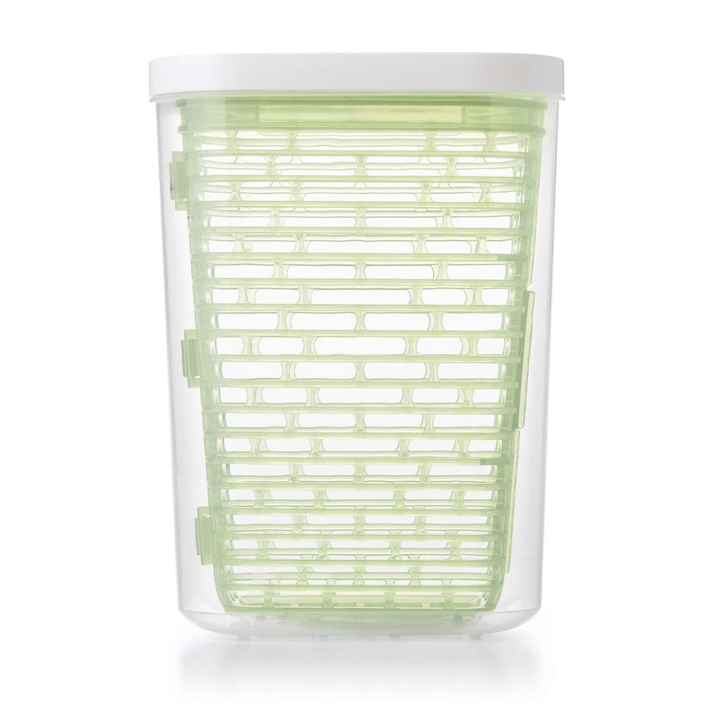 long rectangular glass vase of oxo greensaver herb keeper large greensaver storage with regard to greensaver herbkeeper large