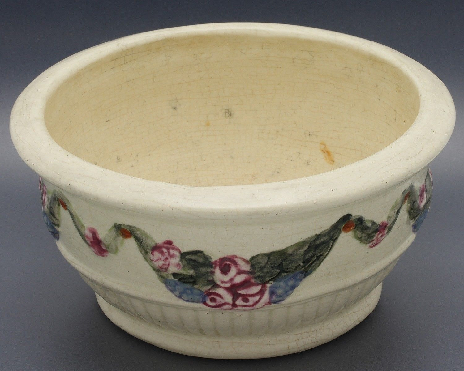louwelsa weller vase of antique weller american art pottery creamware roma bowl planter rose within 1 of 3only 1 available