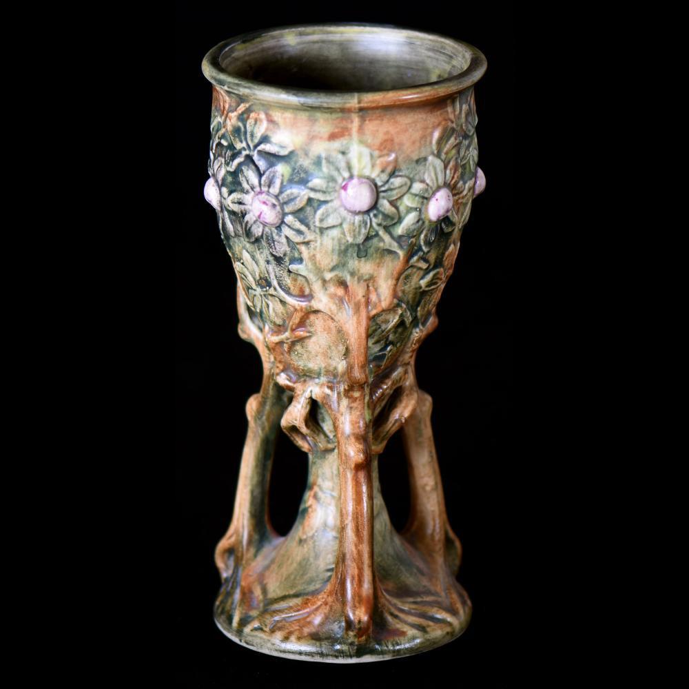 louwelsa weller vase of weller pottery for sale at online auction buy rare weller pottery throughout weller art pottery vase marked 9