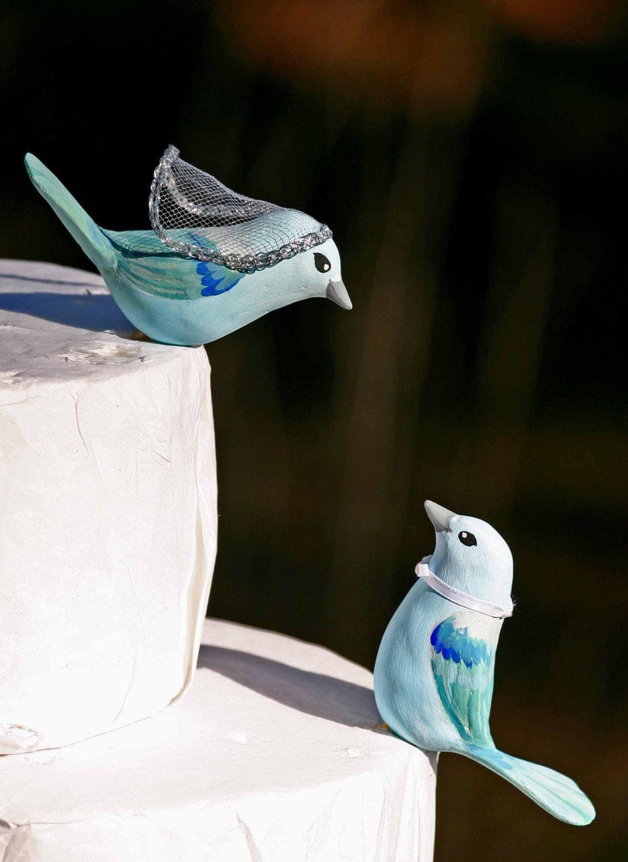 love bird vase of blue gray tanager love birds wedding cake topper via etsy inside blue gray tanager love birds wedding cake topper via etsy