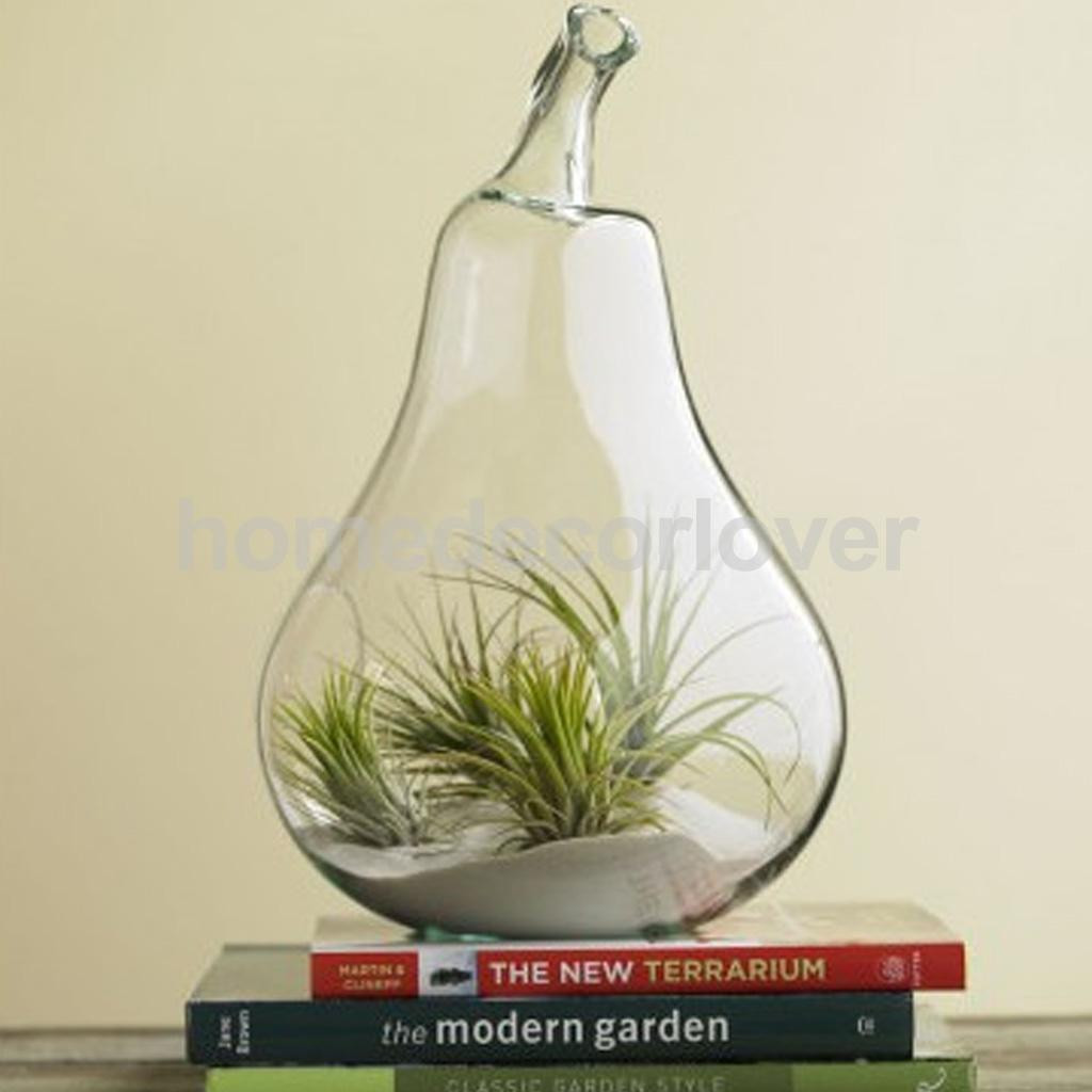 Low Round Glass Vase Of Flower Plant Hanging Clear Glass Vase Bottle Pot Wedding Garden Pear within Aeproduct Getsubject