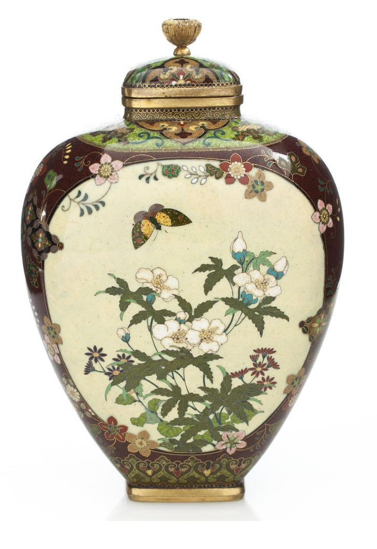 macau porcelain vase of 25 best art chinese porcelain images on pinterest chinese with a cloisonne vase and cover by the workshop of namikawa yasuyuki 1845 1927
