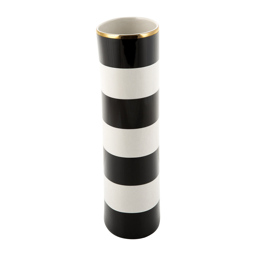 mackenzie childs flower vase of buy kate spade new york everdone lane black white stripe vase amara in next