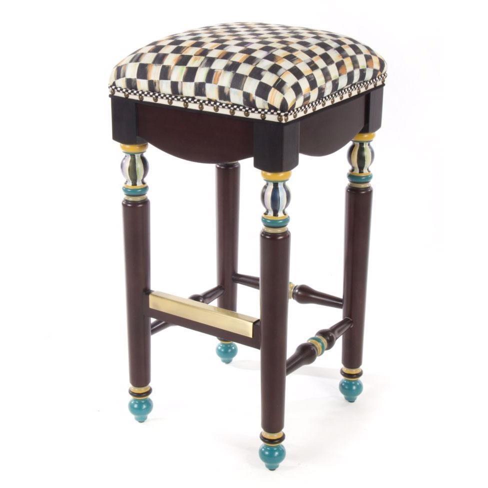 mackenzie childs glass vase of mackenzie childs furniture biggs ltd throughout mackenzie childs courtly check underpinnings bar stool