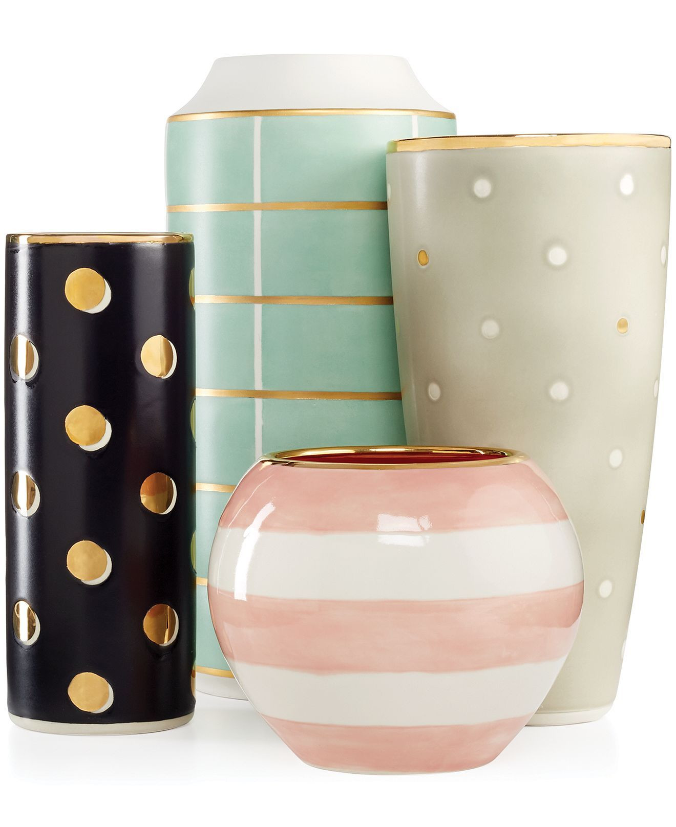 Macys Kate Spade Vase Of Kate Spade New York Sunset Street Vase Collection Macys Pink with Regard to Kate Spade New York Sunset Street Vase Collection Macys Pink White One for the Desk