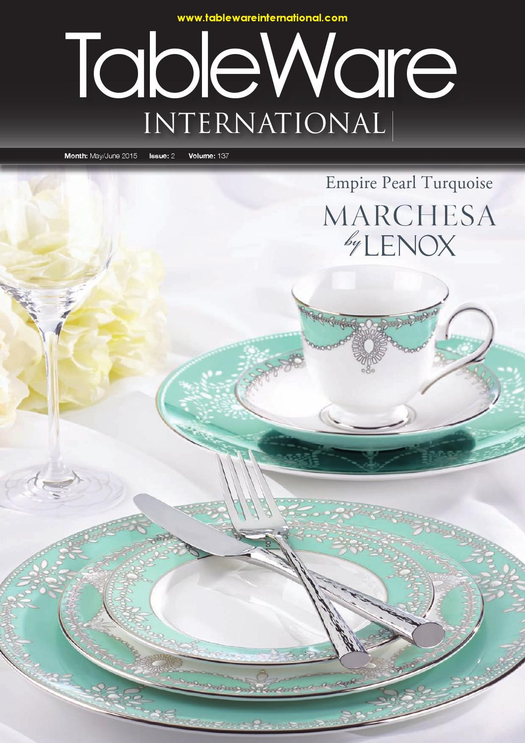Macys Kate Spade Vase Of Tableware International by Lema Publishing issuu with Page 1