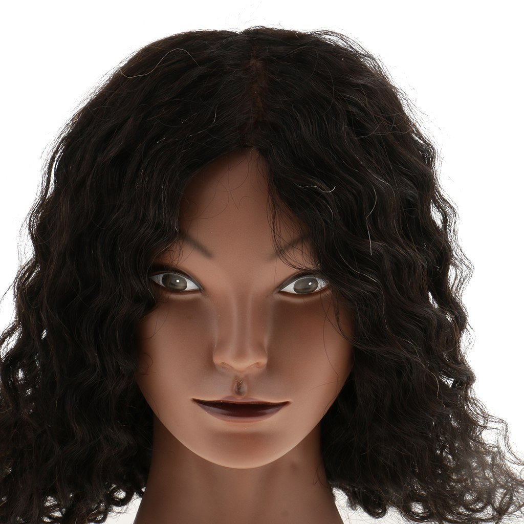 mannequin head vase of silicone 100 human hair practice mannequin manikin head doll with silicone 100 human hair practice mannequin manikin head doll plastic cosmetology clamp set for hairdressing wigs making in mannequins from home garden