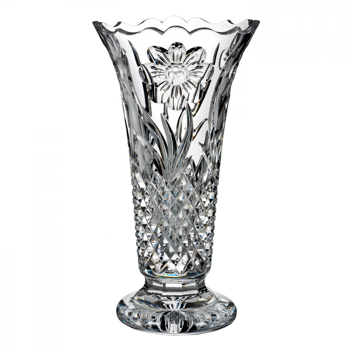 Marquis by Waterford Markham Vase Of Flora Fauna Magnolia 12in Vase House Of Waterford Crystal Us within Flora Fauna Magnolia 12in Vase