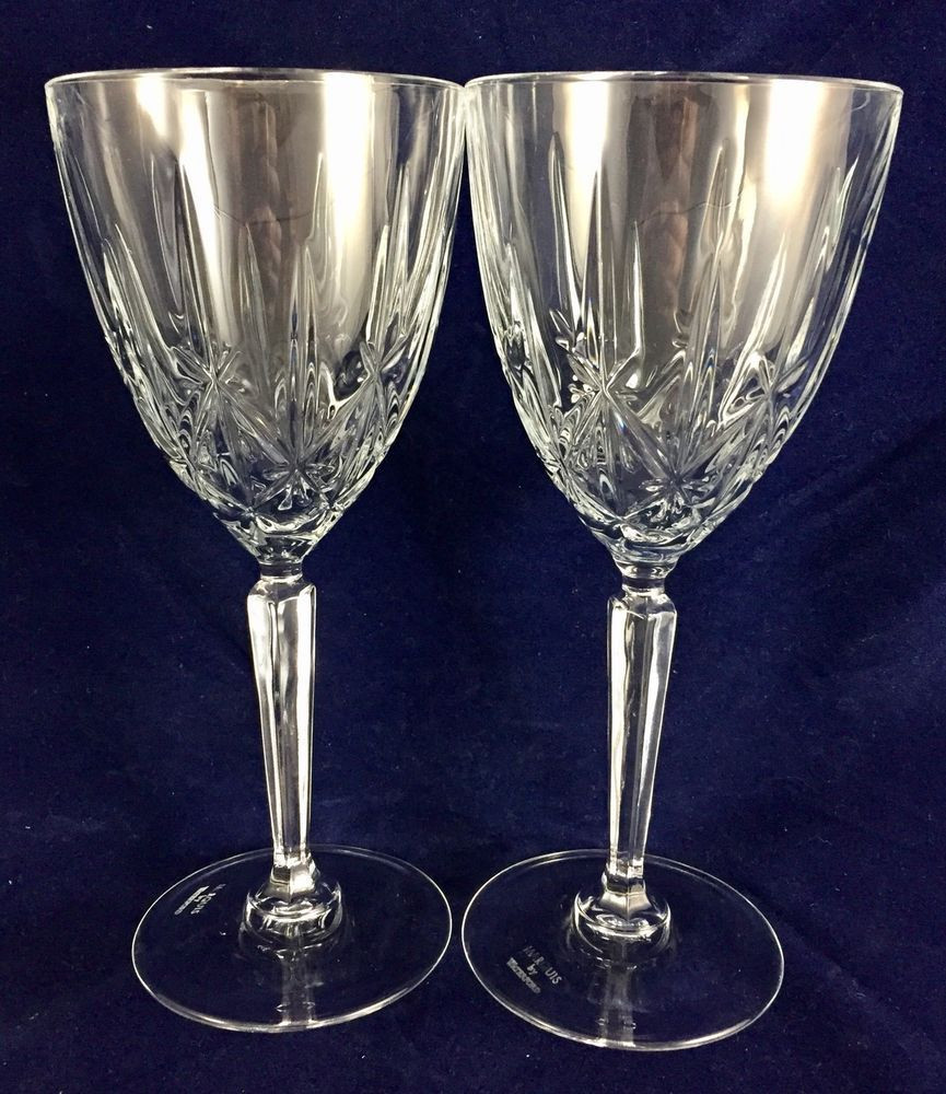 marquis by waterford sparkle 9 vase of 2 marquis by waterford crystal sparkle pattern wine glasses 7 75 for 2 marquis by waterford crystal sparkle pattern wine glasses 7 75 19 5cm waterford wine glasses marquis and glass