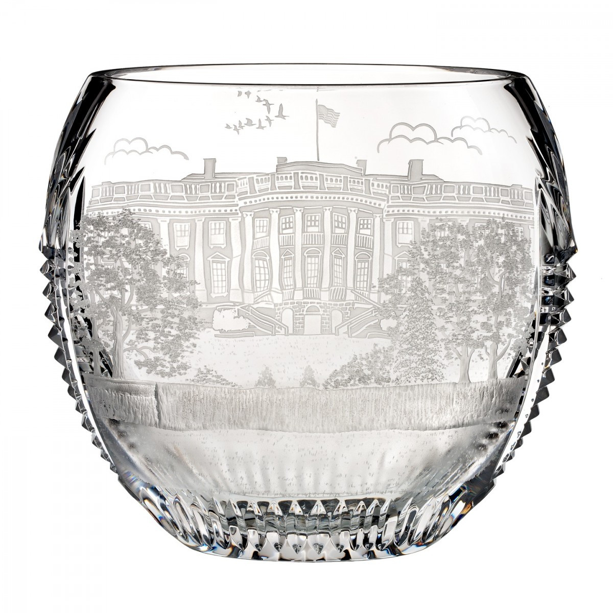 Marquis by Waterford Vase Sparkle Of America the Beautiful Washington D C 9 3in Bowl House Of within America the Beautiful Washington D C 9 3in Bowl