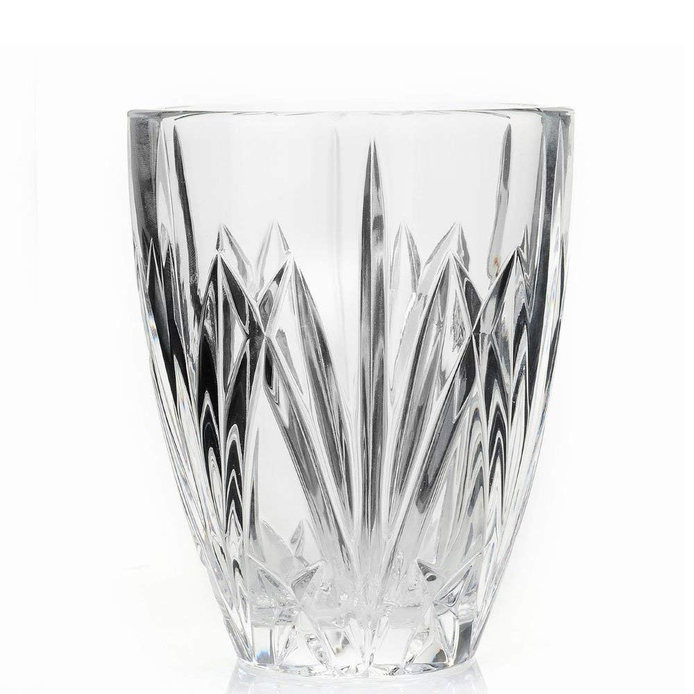 marquis by waterford versa vase of amazon com marquis by waterford brookside hurricane vase home within amazon com marquis by waterford brookside hurricane vase home kitchen