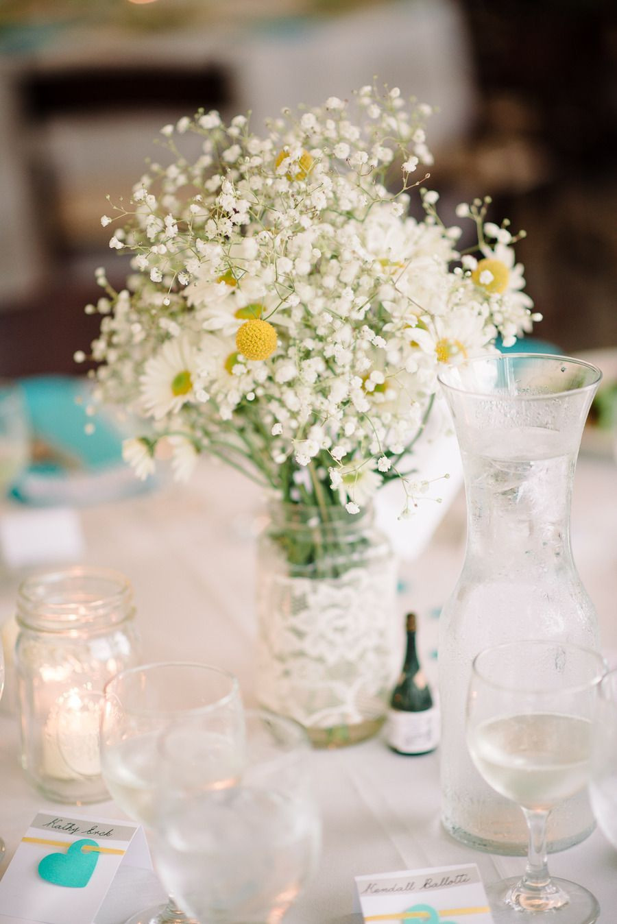 mason jar flower vase ideas of diy centerpiece ivory lace wrapped mason jar with diy daisy and throughout diy centerpiece ivory lace wrapped mason jar with diy daisy and billy ball floral arrangement