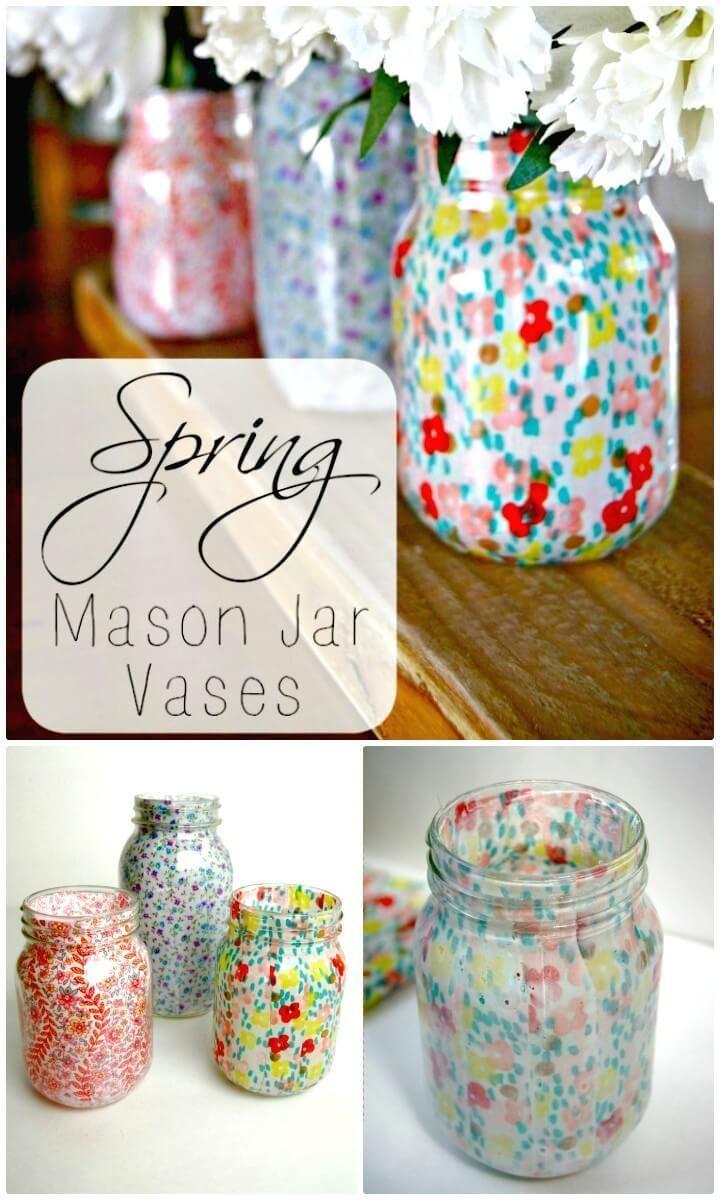 mason jar picture frame vase of 70 best mason jar crafts images on pinterest mason jars mason jar with regard to 130 easy craft ideas using mason jars for spring summer