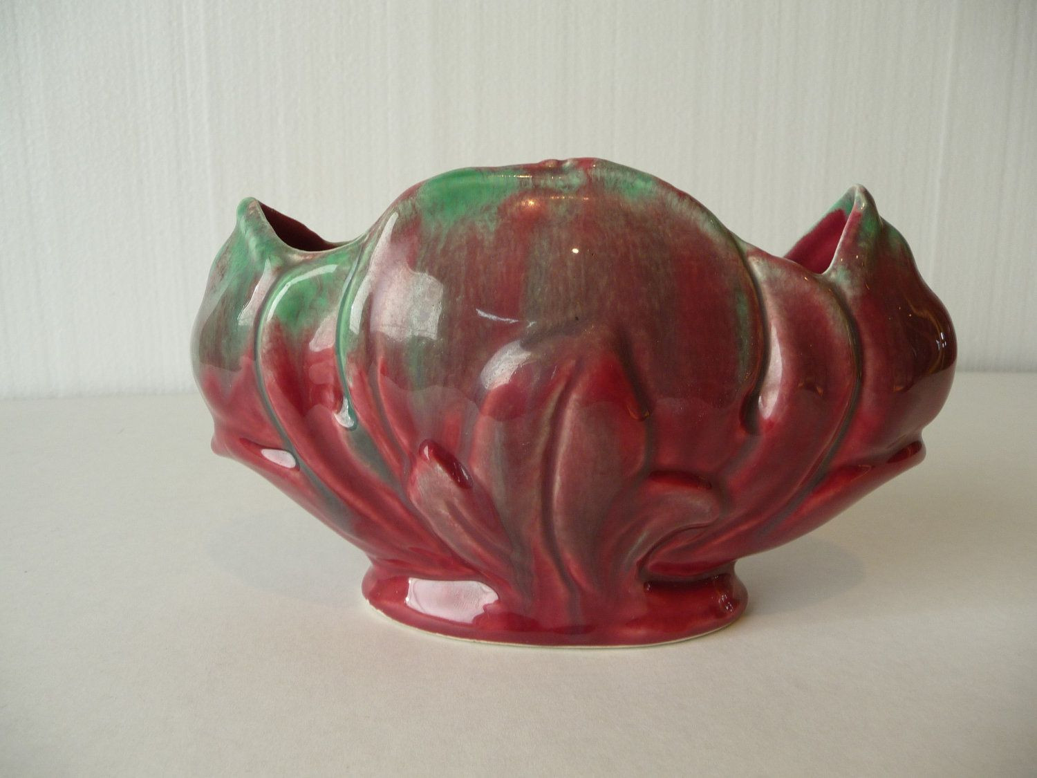 mccoy vases for sale of real mccoy lovely either way mc coy pinterest mccoy with vintage mccoy pottery vase planter in pink and green
