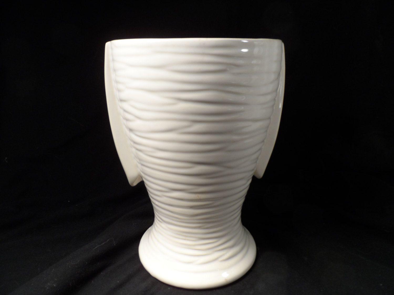 mccoy white vase of vintage vase scares mccoy usa vase 1940s art deco two handle ivory in vintage vase scares mccoy usa vase 1940s art deco two handle ivory matt glaze finish tall white pottery vase