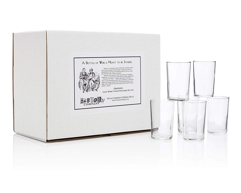 mercer large recycled glass vase of amazon com italianba caro stemless wine glasses gift box set of inside amazon com italianba caro stemless wine glasses gift box set of 6 wine glasses
