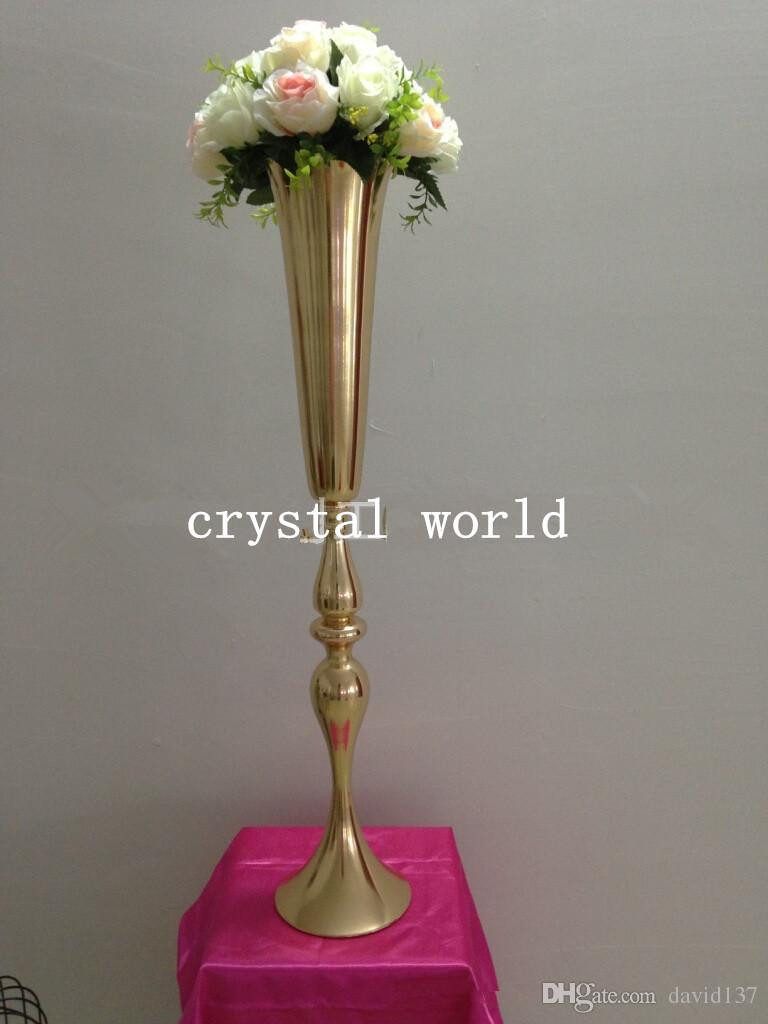 26 Elegant Metal Flower Vases wholesale