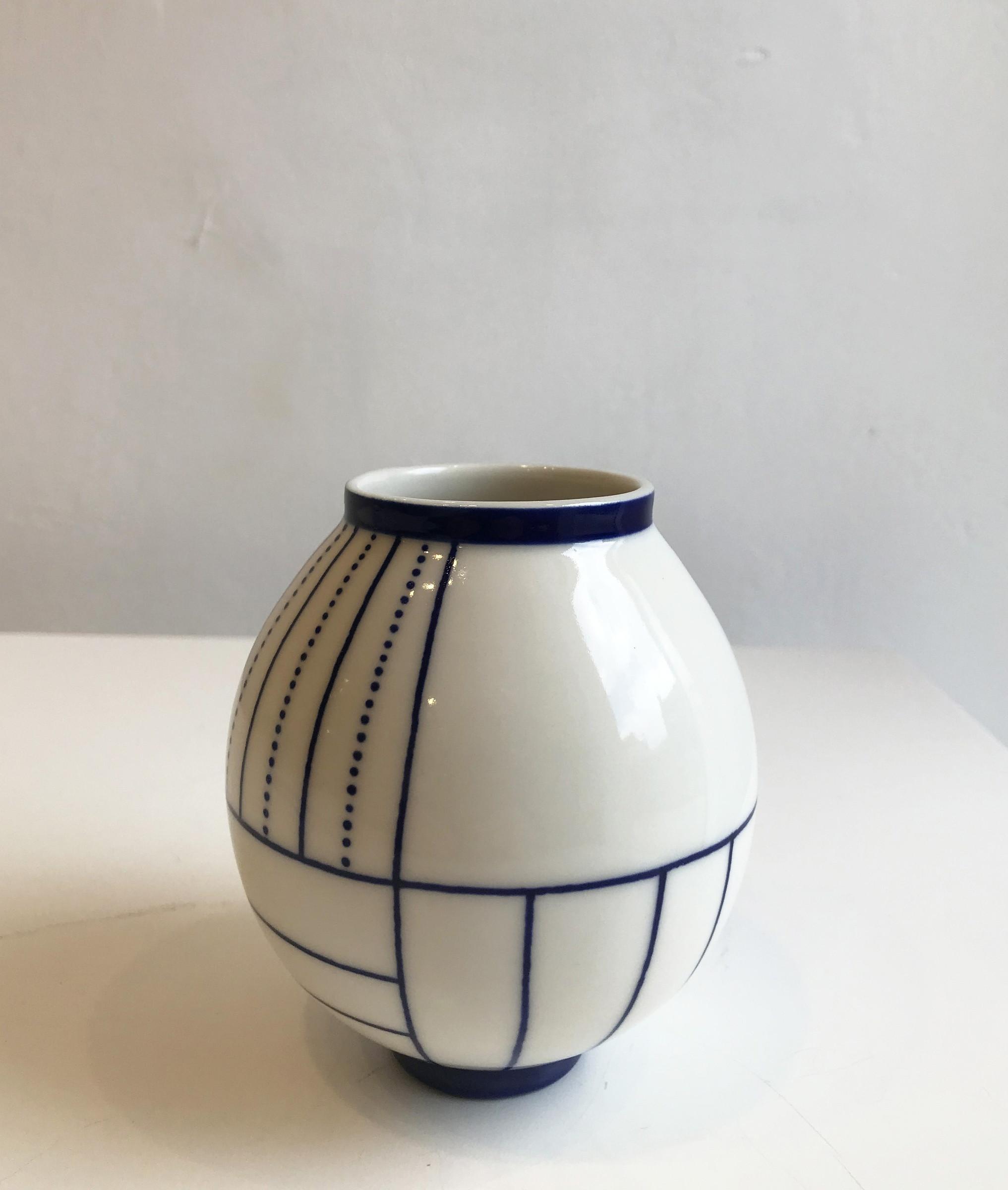 metal urn vase of geometric moon jar small sarah wiseman gallery with geometric moon jar small