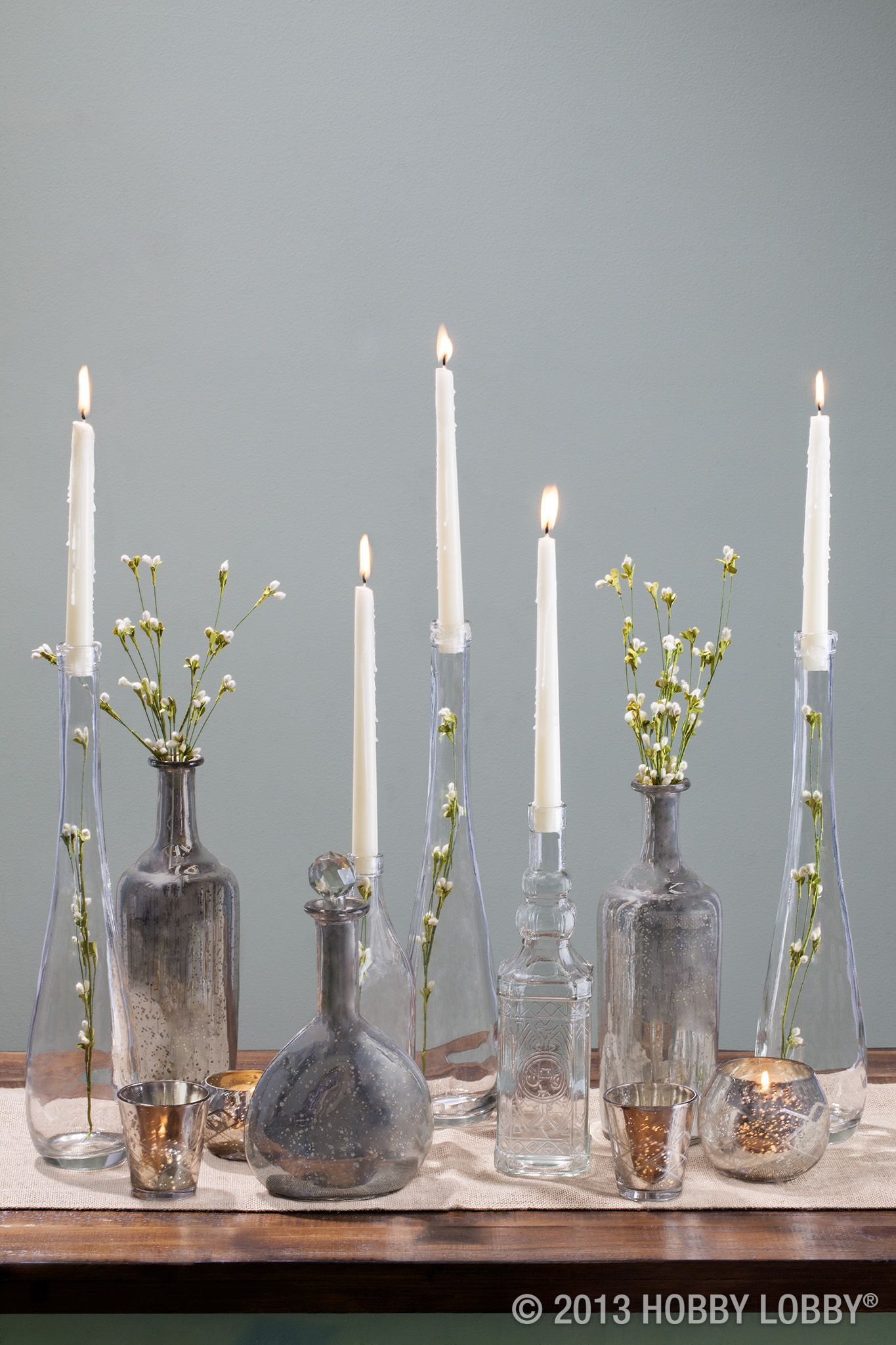 metal vases at hobby lobby of brighten up an entryway table with large glass vases displaying intended for brighten up an entryway table with large glass vases displaying candles and greenery vlastnoruana dekoracehobby lobbylobbiesvanoce