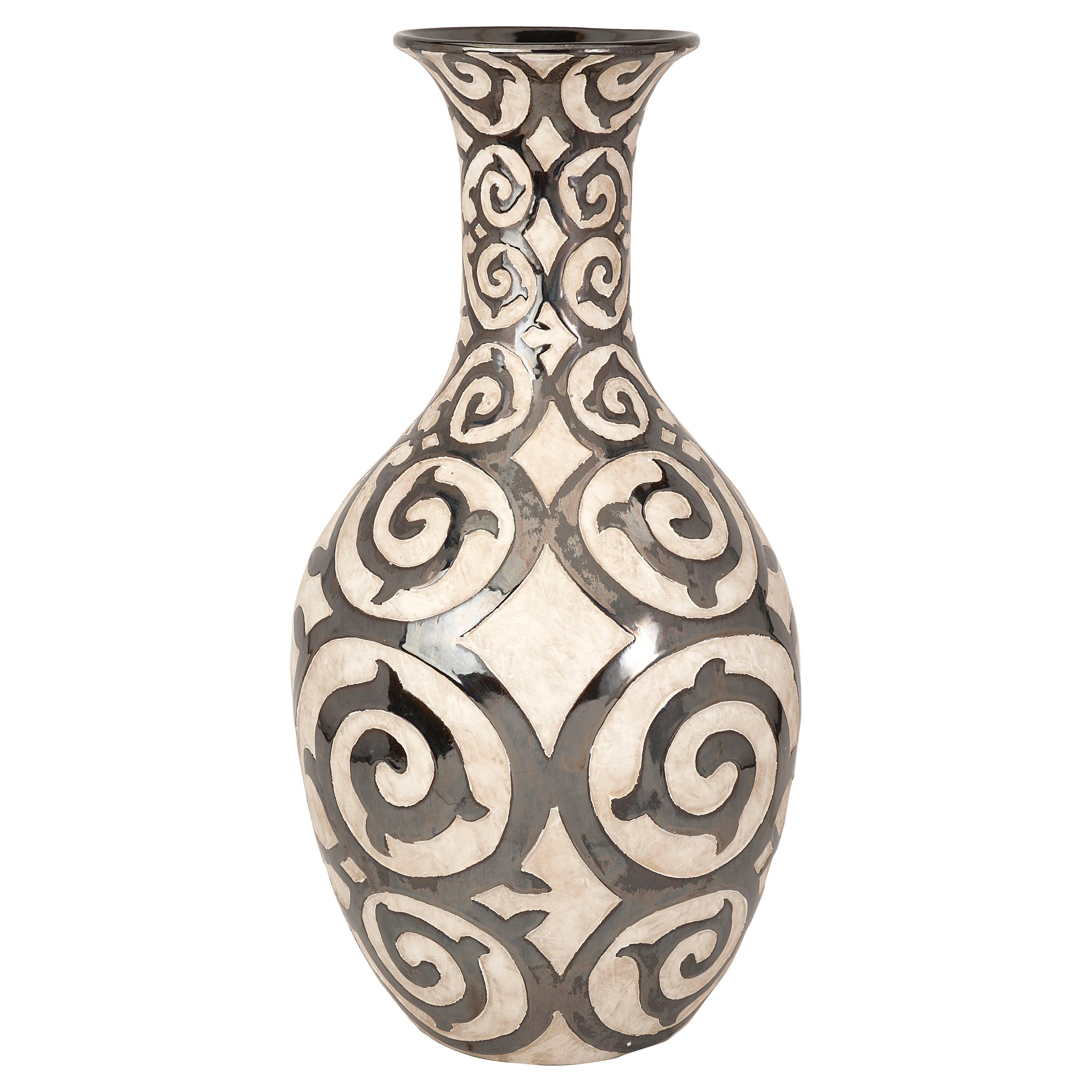 mexican floor vases of farmhouse floor vase intended for imax benigna oversized tall floor vase hayneedle farmhouse floor vase