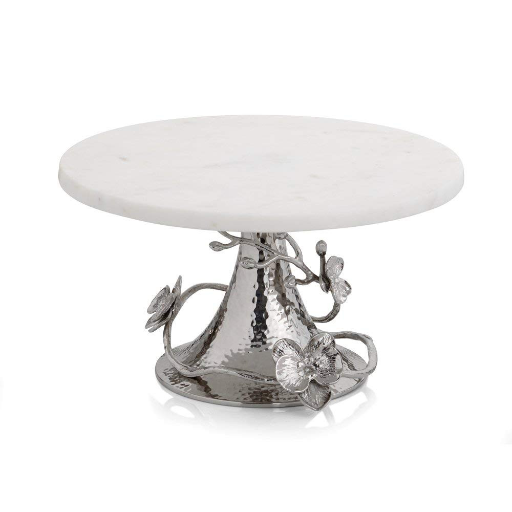 michael aram bud vase of amazon com michael aram 111861 white orchid cake stand silver intended for amazon com michael aram 111861 white orchid cake stand silver centerpiece bowls