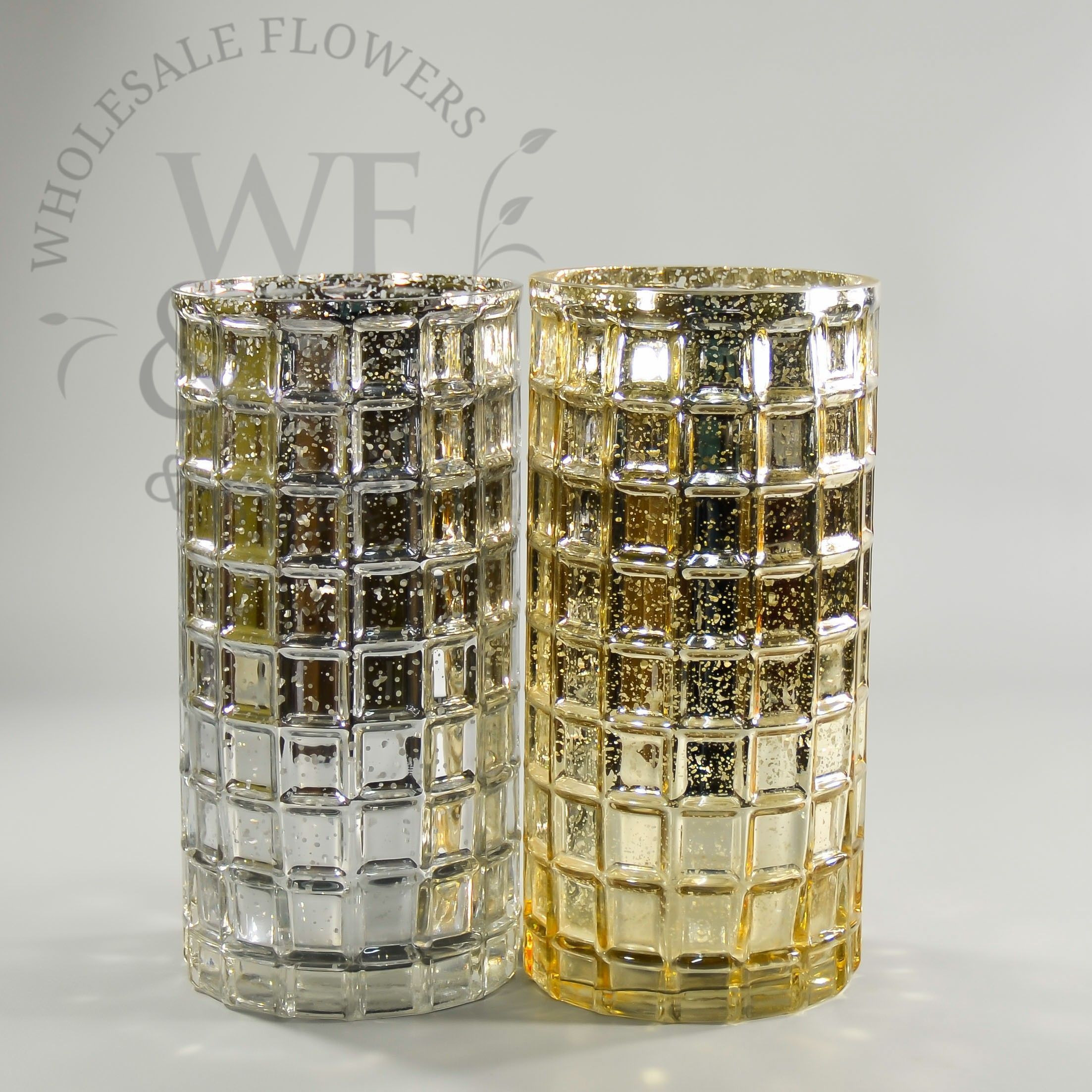 Michaels Glass Cylinder Vase Of Tall Vases wholesale Luxury Silver and Gold Mercury Glass Mosaic with Regard to Tall Vases wholesale Luxury Silver and Gold Mercury Glass Mosaic Cylinder Vase 10x5in
