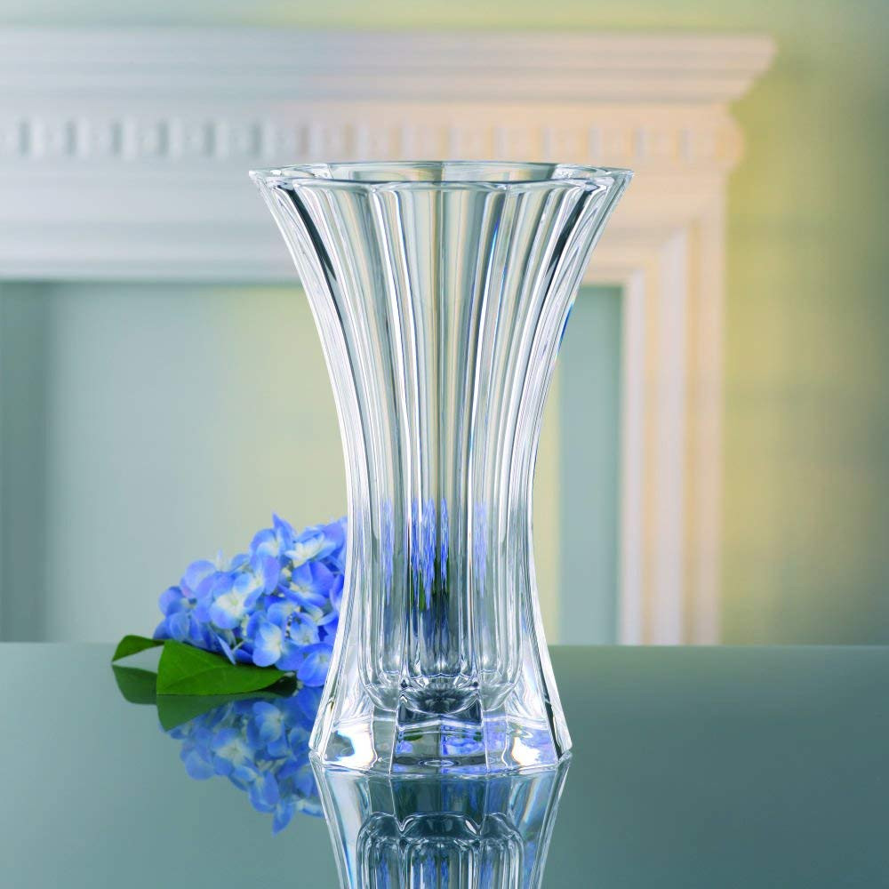 mikasa florale 14 inch vase of amazon com nachtmann the life style division of riedel glass within amazon com nachtmann the life style division of riedel glass works nachtmann saphir 11 4 5 inch crystal vase home kitchen